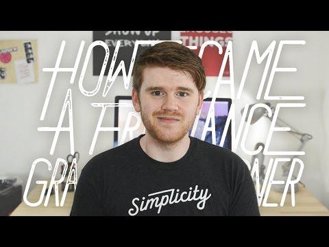 How I Became a Freelance Graphic Designer
