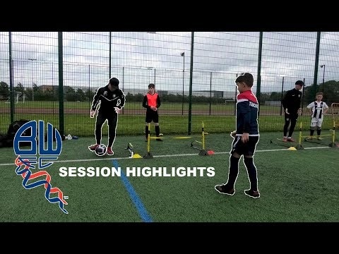 Bolton Academy Player ?? | Session Highlights ???? | AJ 1-2-1 Coaching
