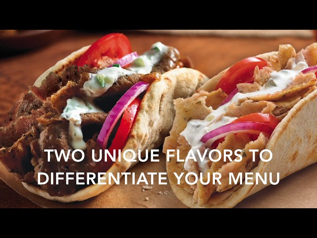 Introducing a New Flavor of KronoBROIL® Gyros