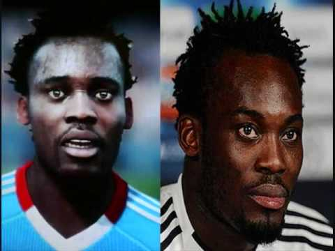 Fifa 11 Chelsea FC Players Face