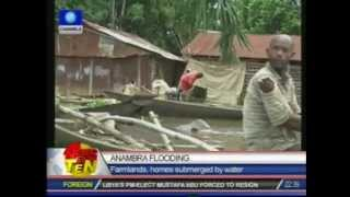 Anambra floods: Homes and farmland submerged