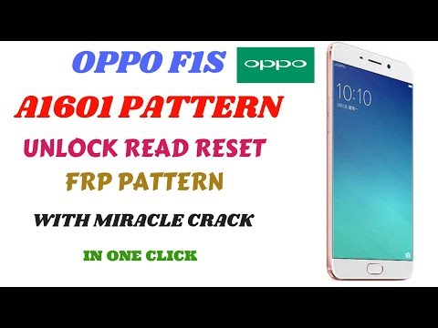 Oppo A37 Hard Reset And Frp Unlock With Miracle Crack 2019