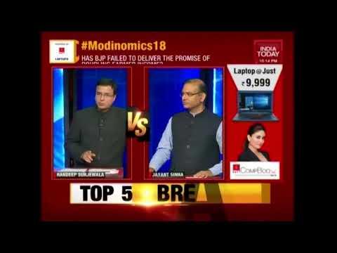 Jayant Sinha Vs Randeep Surjewala On Budget 2018 | Newsroom With Rahul Kanwal