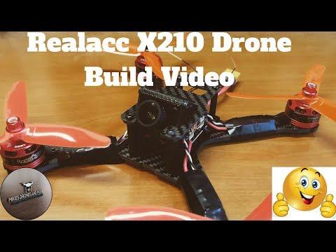Realacc X210 Drone Build Video