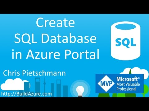 Create Azure SQL Database In Azure Portal