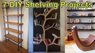 7 Easy Shelf Making Ideas - DO IT YOURSELF PROJECTS