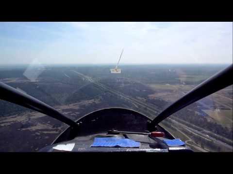 Zweefvliegen Op Terlet Start En Landing Cockpitview