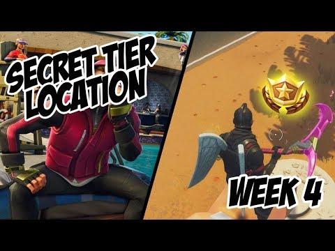 Season 5, Week 4 | *SECRET* Free Tier Location! - Fortnite Battle Royale