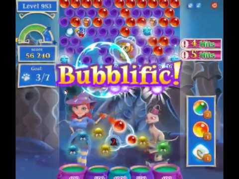 Bubble Witch Saga 2 Level 983 - NO BOOSTERS