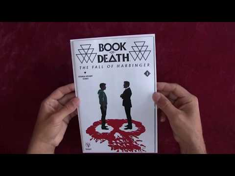 Reading Comics: Book of Death: The Fall of Harbinger #1, Valiant, 2015 -- ASMR -- Male, Soft-Spoken