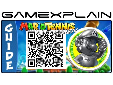 Qr Code Reader >> Mario Tennis Open - Metal Mario QR Code (Secrets Characters & Unlockables) - YouTube