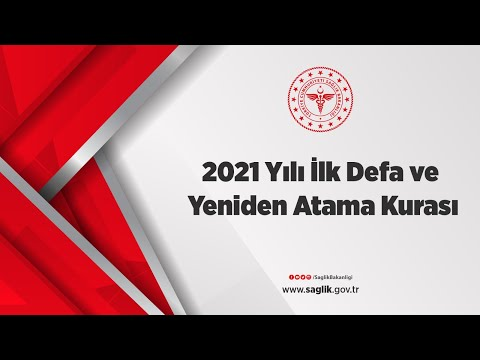 2021 Yılı İlk Defa ve Yeniden Atama Kurası