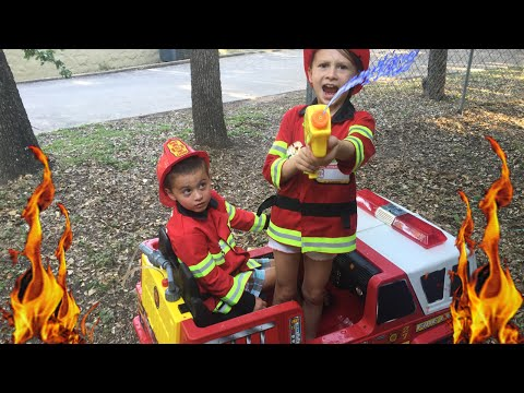 Kid Heroes 3 - The Fire Engine with Firemen, The Mean Driver, and The Ping Pong Ball
