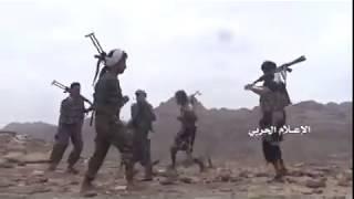 Scenes of defeating Saudi mercenaries' infiltration &inflicting them heavy losses in Asir .