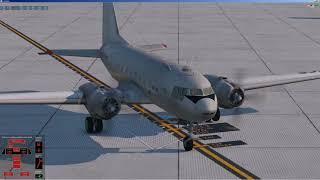 X-plane 11 | ИЛ 14 Felis | c элементами ''подруливания'' на базе MyNL | EDDF - EGBB
