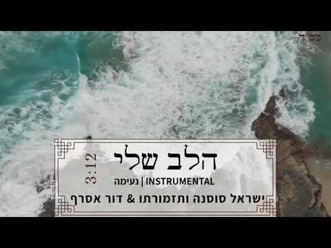 הלב שלי קאבר סקסופון דור אסרף ישראל סוסנה ותזמורתו