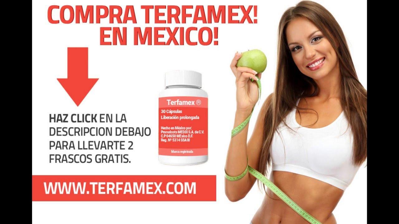 Terfamex 15 mg para adelgazar