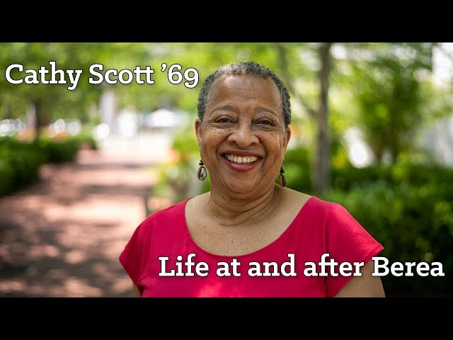 Cathy Scott '69: Life at and after Berea