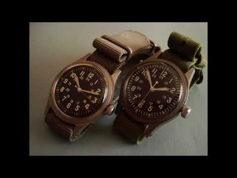 Wristwatches Of The Vietnam War - US Military Issue