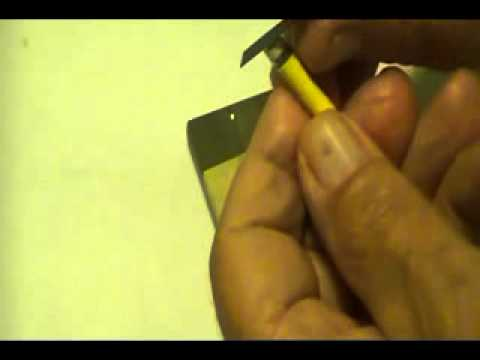 How to cut acurately a new violin sound post ALSO SEE UPDATED  Violin Sound Post Gauge