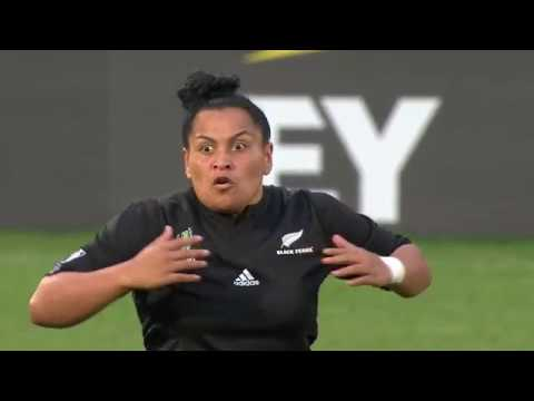 HAKA! New Zealand perform haka after winning the Women's Rug