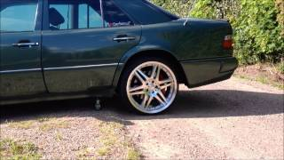 Mercedes 500e projekt 2