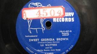 SWEET GEORGIA BROWN by Lu Watters Yerba Buena Jazz Band