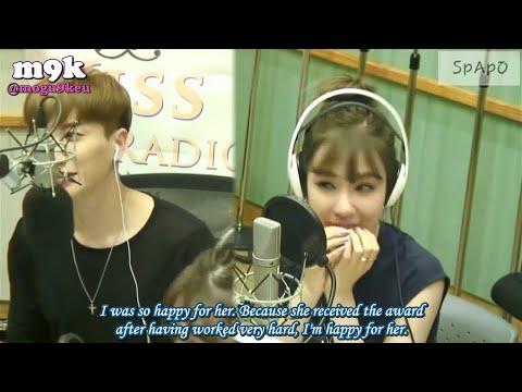 [eng sub] 160517 Sukira (Kiss the Radio) - Tiffany pt.2/2 (Sooyoung phonecall)