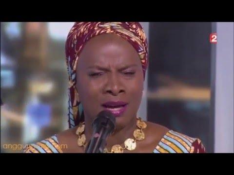 Anggun and Angélique Kidjo singing Née Quelque Part (Live @ Journal France 2)