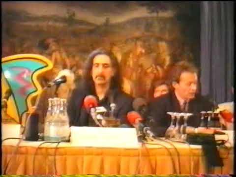FRANK ZAPPA: PRESS CONFERENCE YELLOW SHARK july 21 1992 Frankfurt