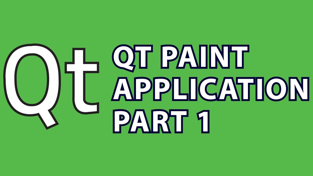Qt Tutorial 4 : C++ Paint App