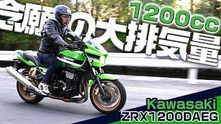 【1200cc】念願の大排気量バイク【Kawasaki/ZRX1200DAEG】