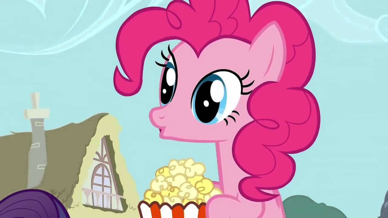 Pinkie Pie Popcorn Youtube