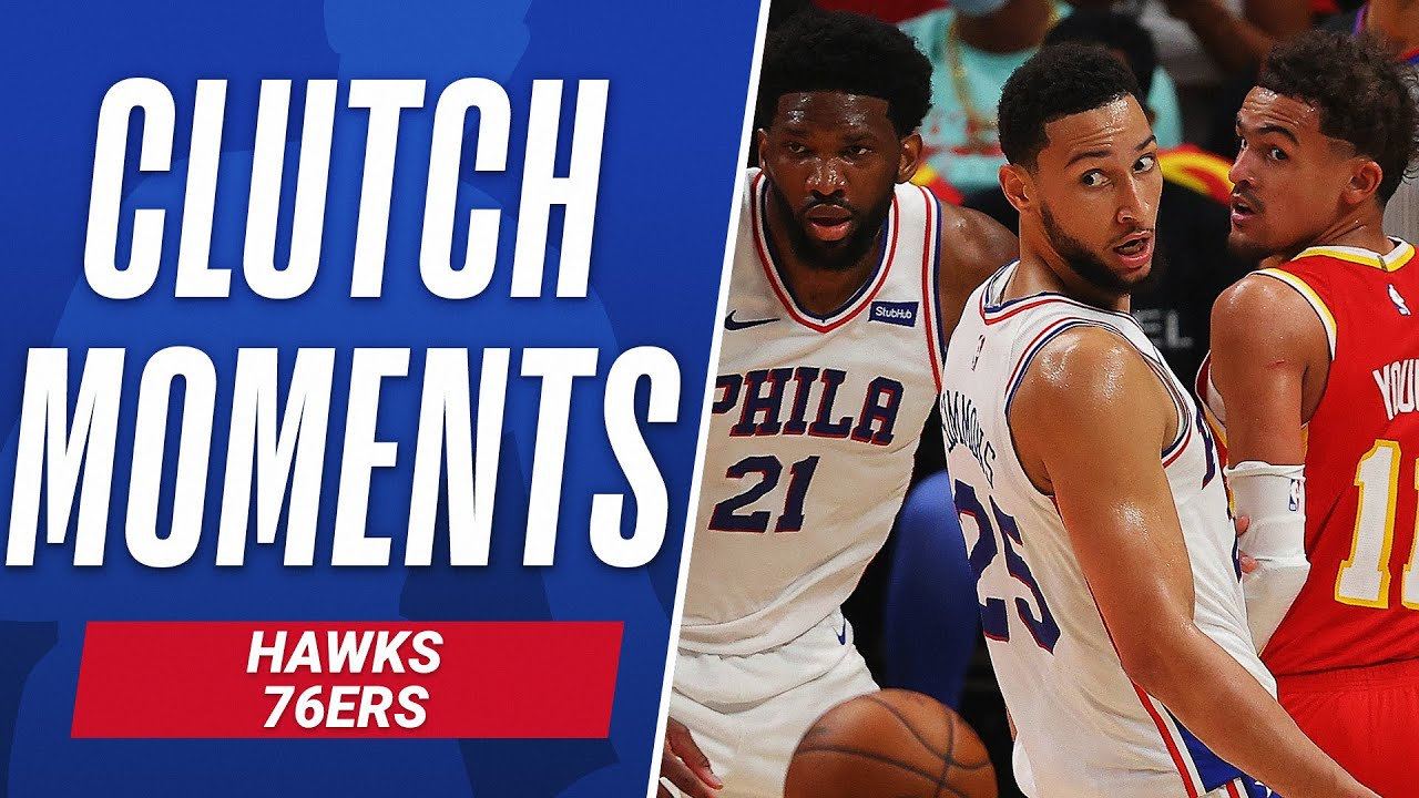 CLUTCH Moments From THRILLING Hawks vs 76ers Series 🤩