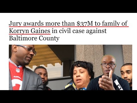 Family of Korryn Gaines Awarded $37 Million in Civil Case Against Baltimore County (REACTION)