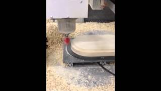 Wood Bowl Making On Cnc Side 2 Roughing