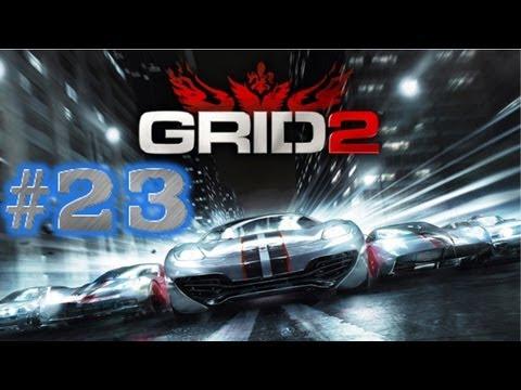Grid 2 Walkthrough w/ iQ x DriftZ #23 (CRASHING LOTS)