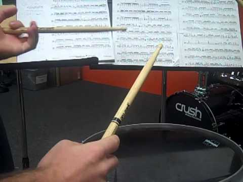 Drum Lesson Snare Drum Solo Tornado