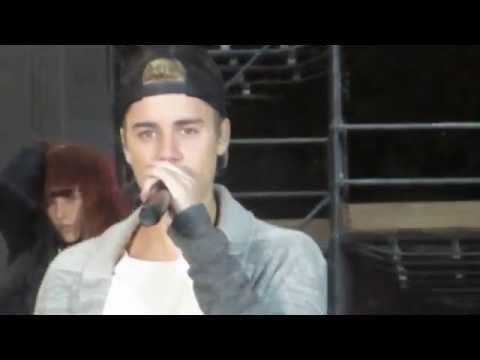No Pressure (Soundcheck) Today Show - Justin Bieber & Big Sean at Rockefeller Center, NYC 11/18/15