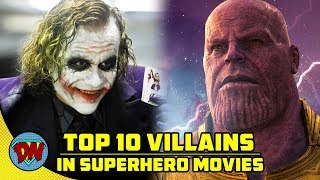 Top 10 Villains in Superhero Movies | Explained in Hindi