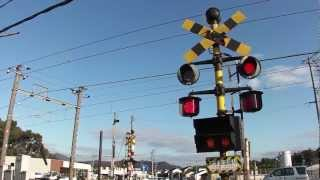 大津里道踏切 2013年3月