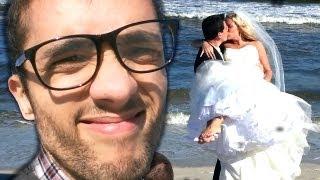 BRIDE AT THE BEACH!