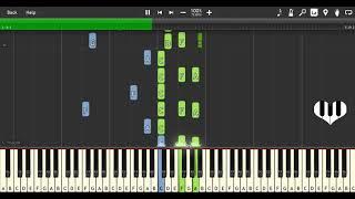 PIANO TUTORIAL - KIRORO (キロロ)- MIRAI E 未来へ ピアノ ==========...