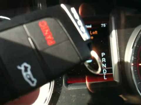 2012 Dodge Charger Key Fob problem - YouTube