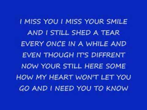 Stay i missed you lyrics