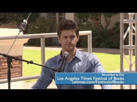 Actor Keegan Allen at the 2015 L.A. Times Festival of Books