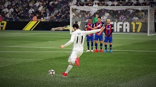 FIFA 17 TOP 20 MOST POWERFUL FREE KICKS GOALS