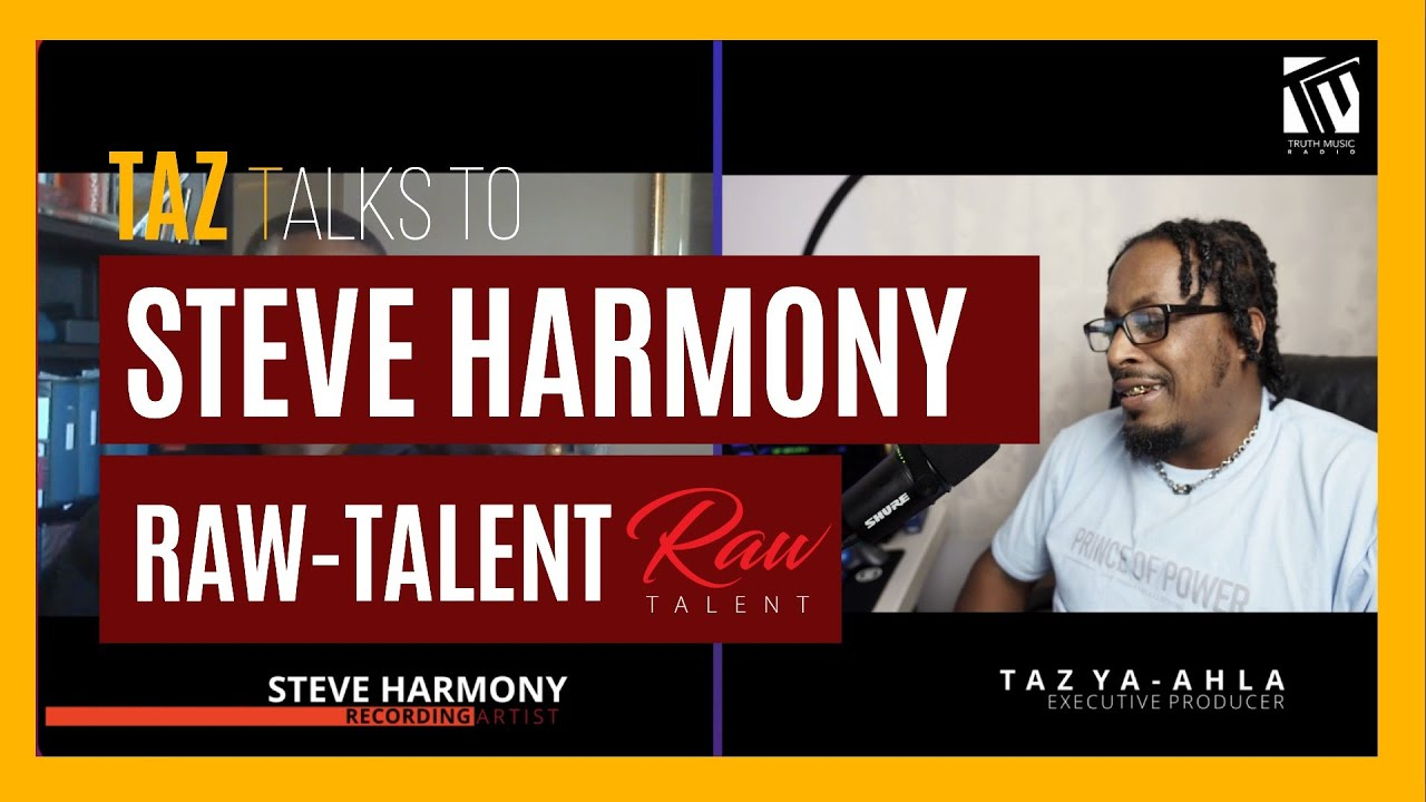Taz talks with Steve Harmony | Raw Talent