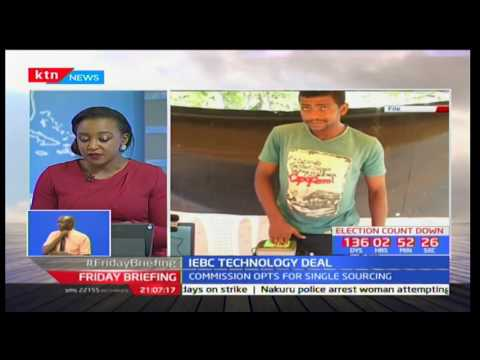 IEBC Commissioner-Dr. Roselyne Akombe explains why the commission opted for single sourcing thumbnail