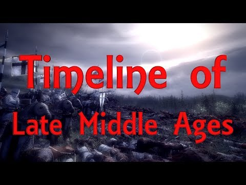 Timeline of Late Middle Ages